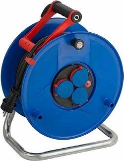 Cable reel 25m 3x2