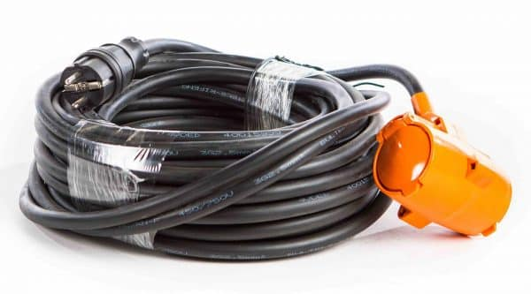 Extension cable 3x2