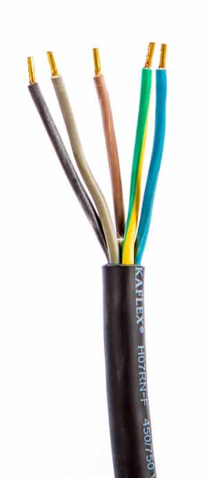 Rubber cable 5x50mm2 H07RN-F